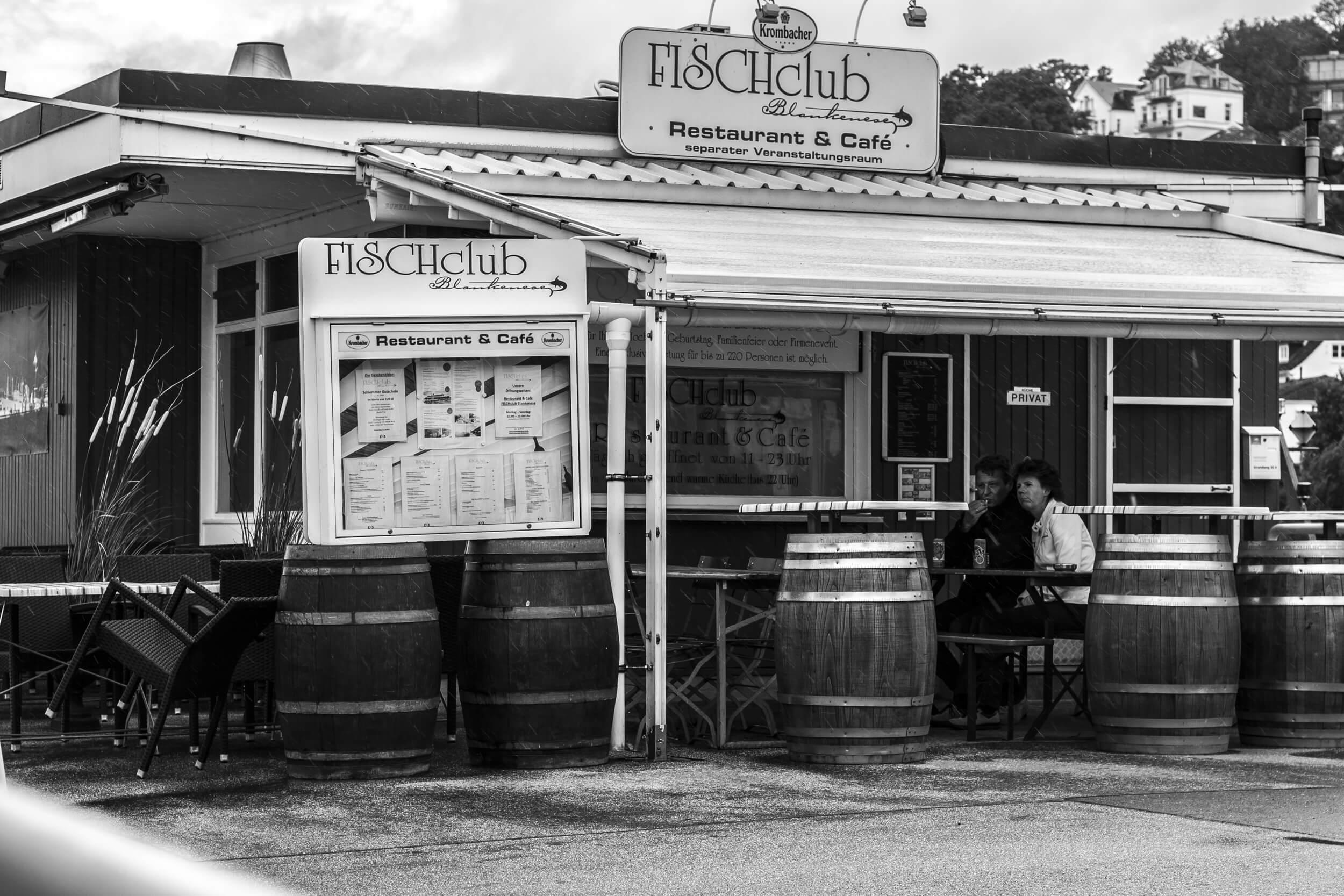 Das Restaurant Fischclub in Blankenese