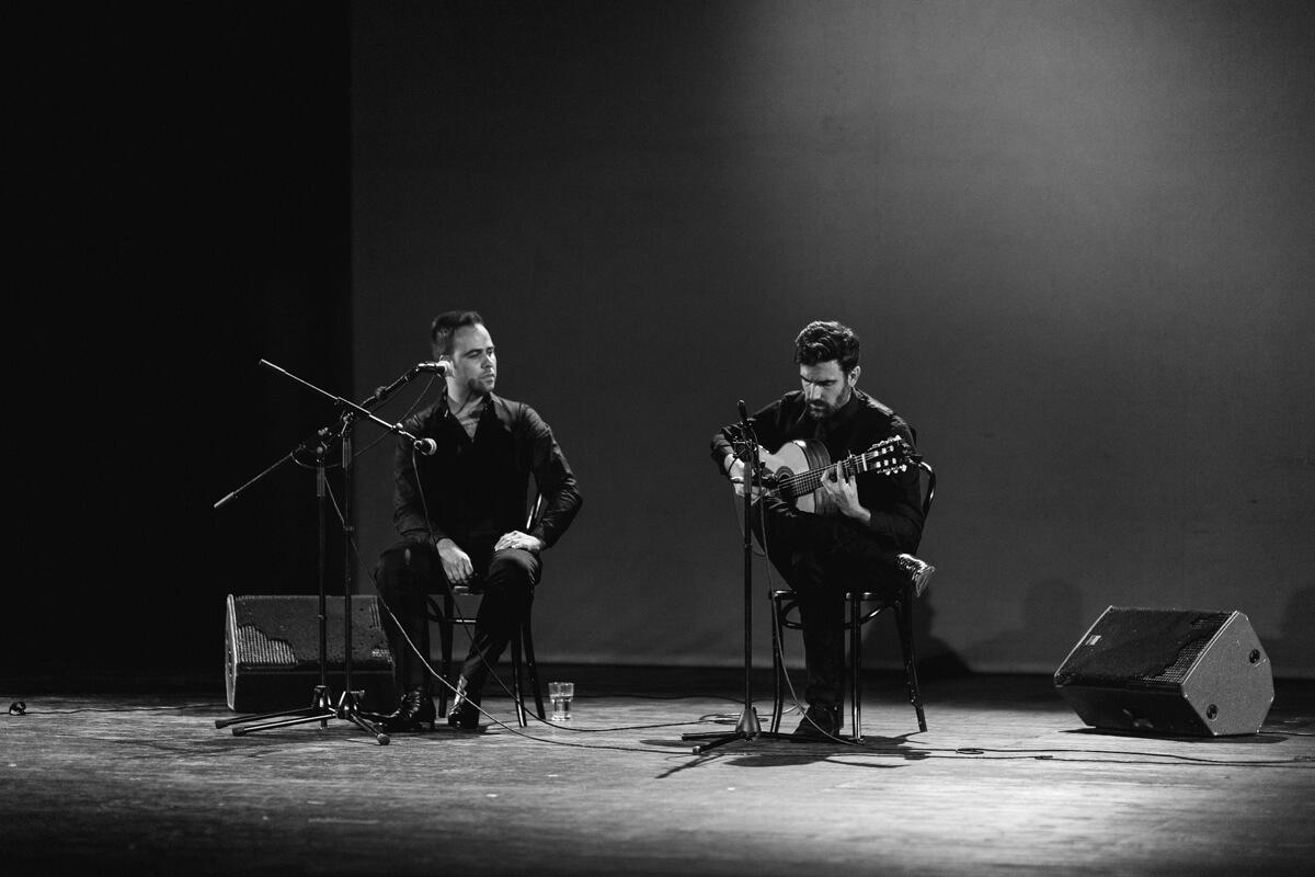 Recital von David Hornillo undJavier Gomez beim Flamenco Festival 2018