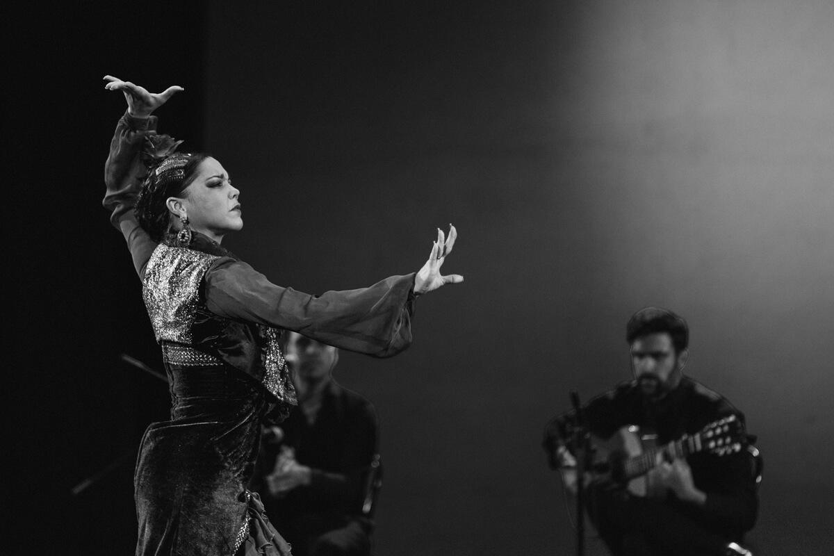 Yasarai Rodriguez mit einem Tablao Flamenco Sevillano beim Flamenco Festival Hamburg 2018