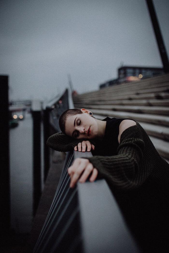 Stimmungsvolles Porträt in Hamburg